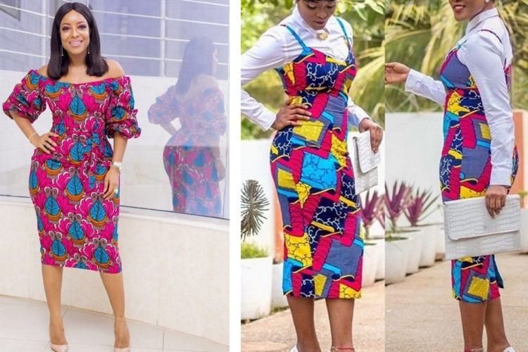 7 Curvy Ghanaian Celebrities Who Totally Rocked African Print Clothing