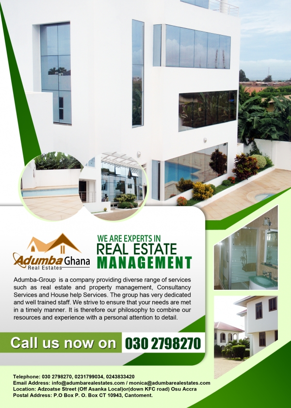 ADUMBA REAL ESTATES