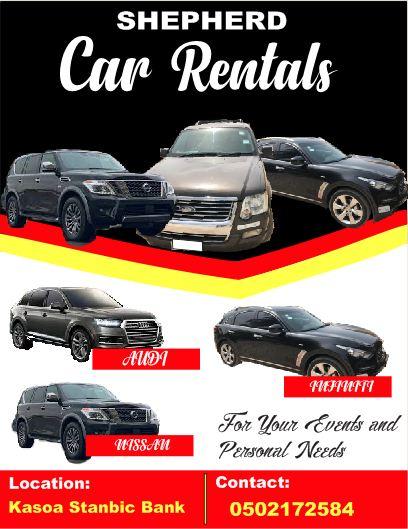 Car Rentals in Accra