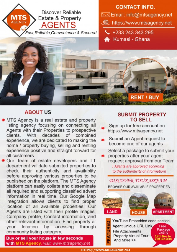 Real Estate Agents in Kumasi, Ghana - List of Real Estate