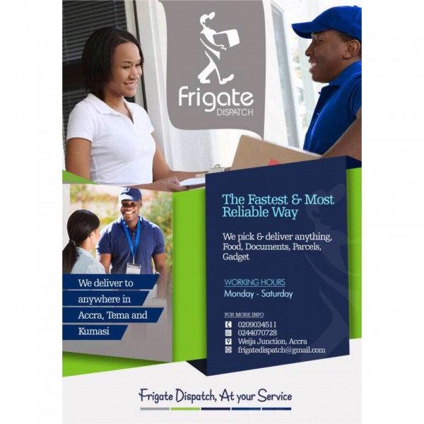 Delivery, Dispatch and Courier Service - Frigate Dispatch Gh