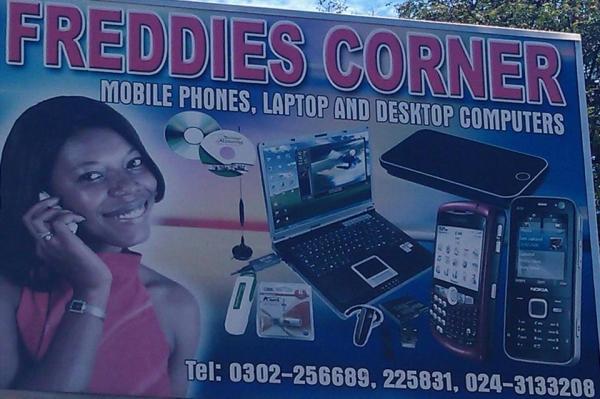 Freddies Corner Accra- Freddies Corner Phones