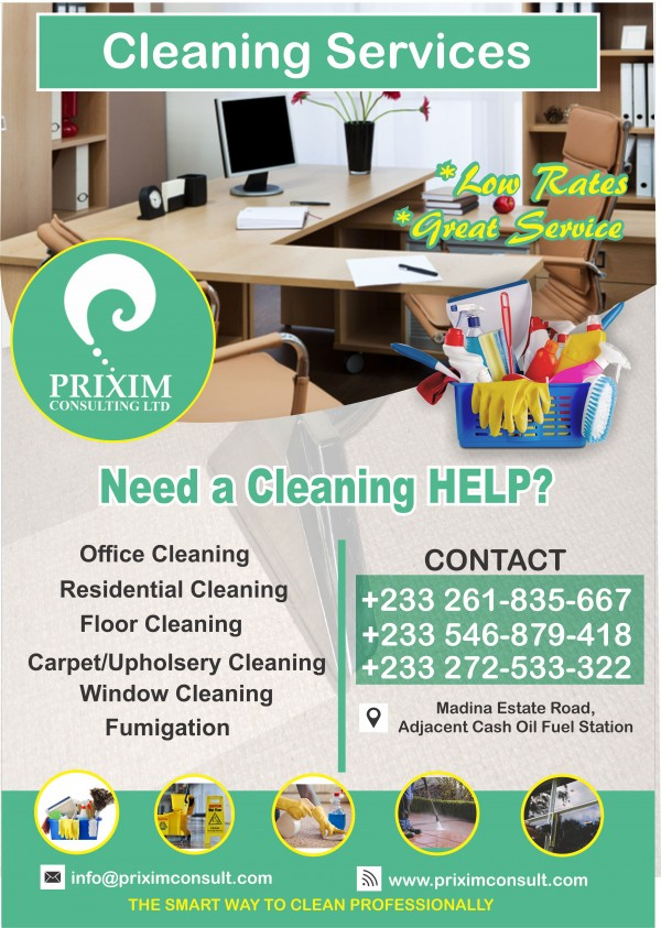 Prixim Cleaning Services Madina Ghana