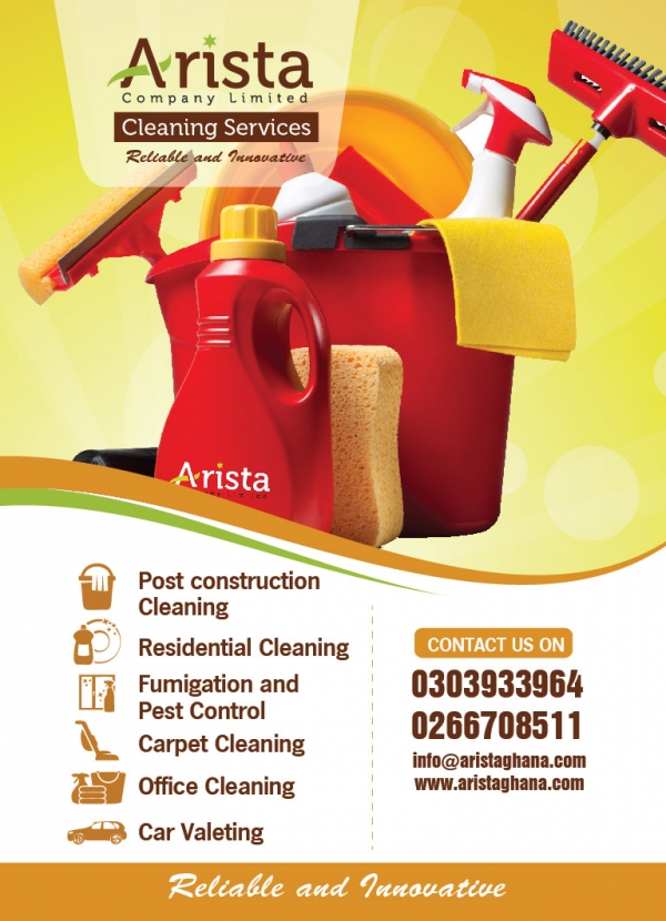 Arista Company Limited Cleaning Services Accra Ghana