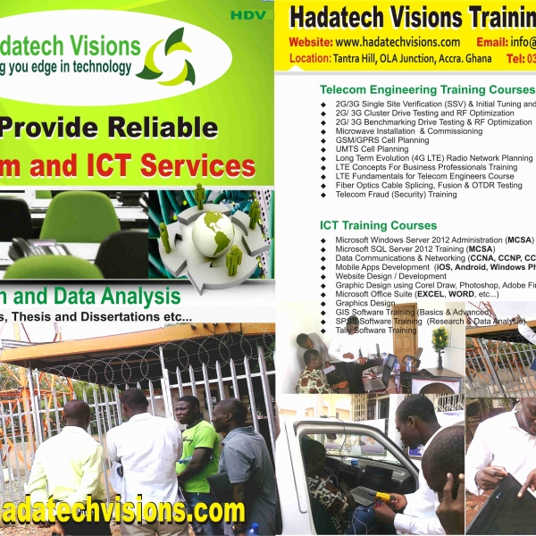 Practical I T Training Courses in Ghana - HADATECH VISIONS