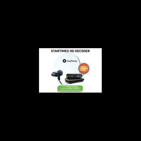 Startimes HD decoder - YAW MULTI TV SHOP