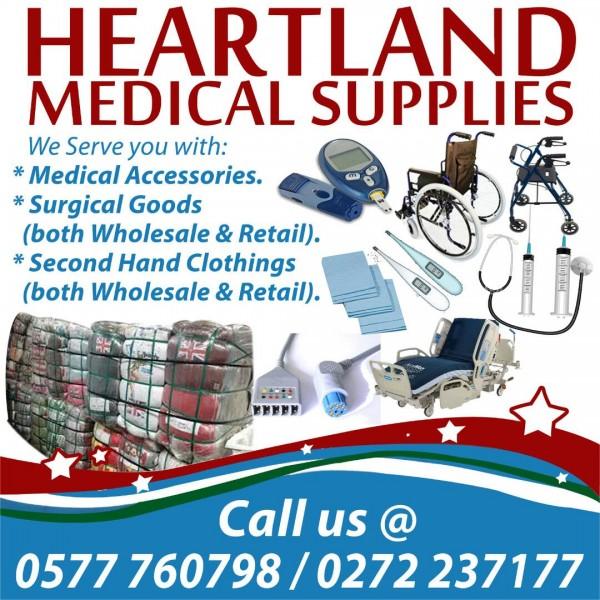 heartland medical supplies  kumasi  ghana